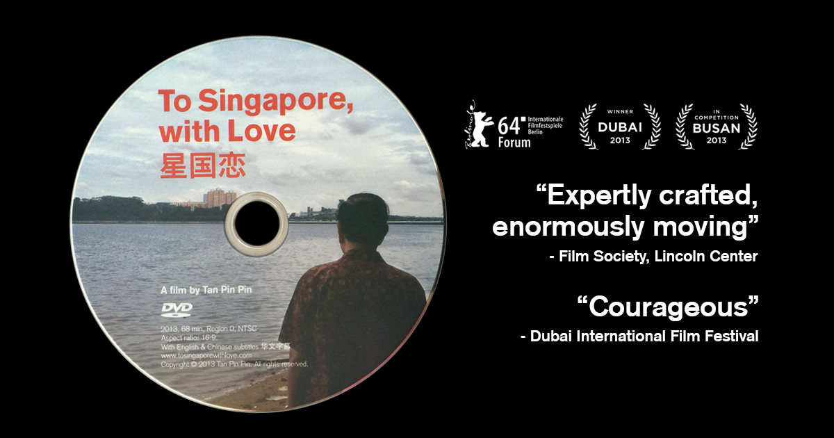 To Singapore, with Love DVD for Sale